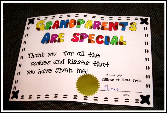 2013 – Grandparents Day