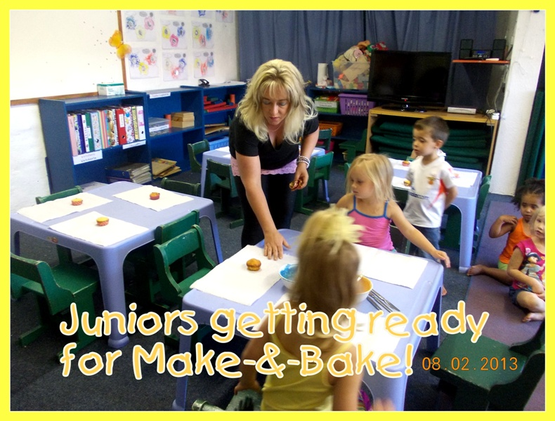 Make and bake kinder college in alberton new redruth for Extra mural program