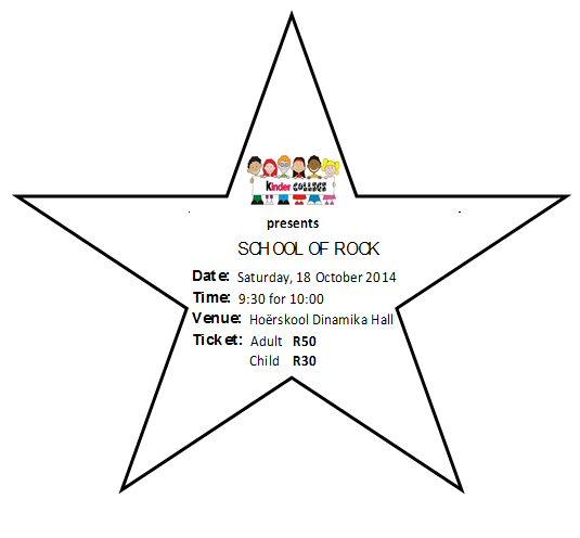 concert at Kinder College preschool in Alberton